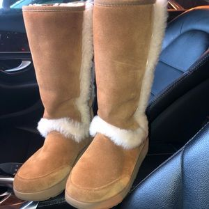 UGG Genuine Shearling Waterproof Boot
